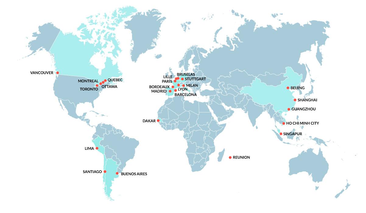 mapa oficinas DS Abogados